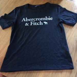 Soft Black Abercrombie and Fitch Tee